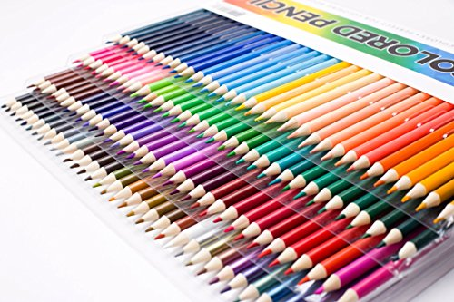 Amazon.com : Shuttle Art 136 Colored Pencils, Soft Core Color Pencil ...