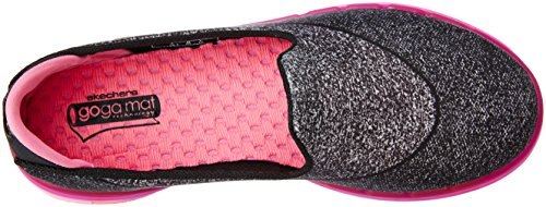 little Flex Enfants À Athlétique Skechers Enfiler Go Black Kid Enfant Pink hot Grand 4Fwn1