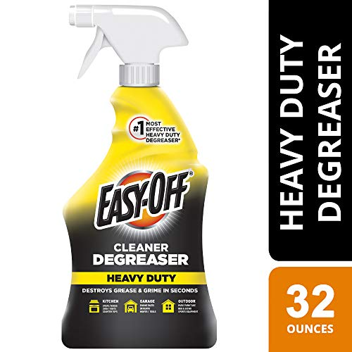 Easy Off Heavy Duty Degreaser Cleaner Spray, 32 Ounce (Best Oven Cleaner On The Market)