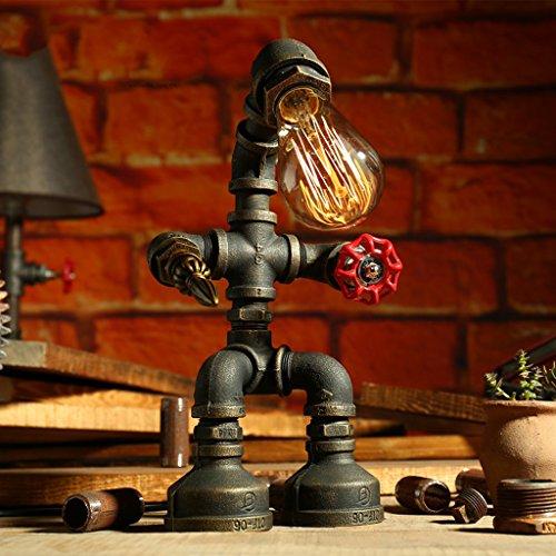 Industrielle Lde Lily Bureau Vintage Table Lampe De 435RjAL
