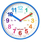 Acctim 22529 Wickford Kids Wall Clock in Blue