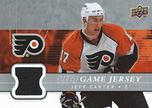 (HCW) 2008-09 Upper Deck Game Jersey JEFF CARTER NHL Hockey 00802