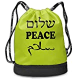 Best World Traveler Overnight Business Travel Bags - YyTiin World Peace Hebrew English Arabic Unisex Waterproof Review