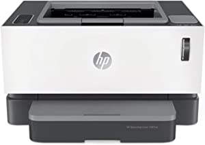 HP Neverstop Laser Printer 1001nw | Wireless Laser with Cartridge-Free Monochrome-Toner-Tank (5HG80A)