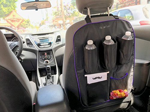 Car Seat Organizer For Uber Lyft Taxi Driver   Black Executive Edition