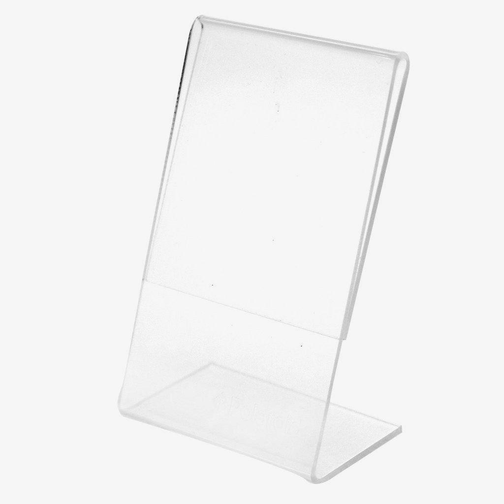 Snap 5 x 7 marco de acrílico transparente autoadhesivo de pie (juego ...