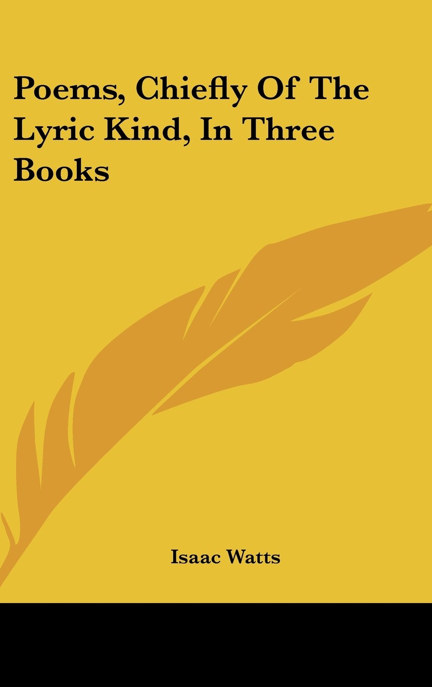 Download Poems, Chiefly Of The Lyric Kind, In Three Books pdf