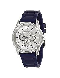 Coach Women's Chronograph Classic Signature Sport Silicon Rubber Strap Watch 14501881
