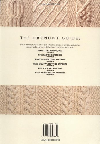 220 Aran Stitches And Patterns Volume 5 The Harmony Guides