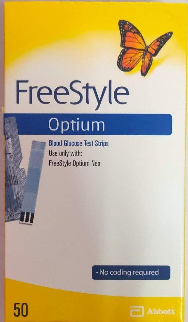 Freestyle Optium Blood Glucose 1 x 50 Test Strips