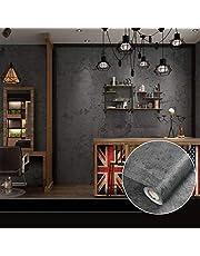 PVC waterdicht zelfklevend behang 10 m x 60 cm retro stijl vintage behang decoratief behang wandsticker rol voor slaapkamer woonkamer keuken badkamer café