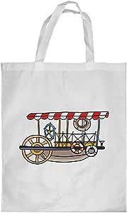 Printed Shopping bag, Large Size, fishing boat