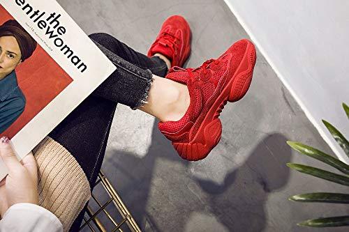 37eu Course Chaussures 37 Amortisseur Zhijinli Sneakers Des Blanc Avec Sport 5eu De gZZ17T
