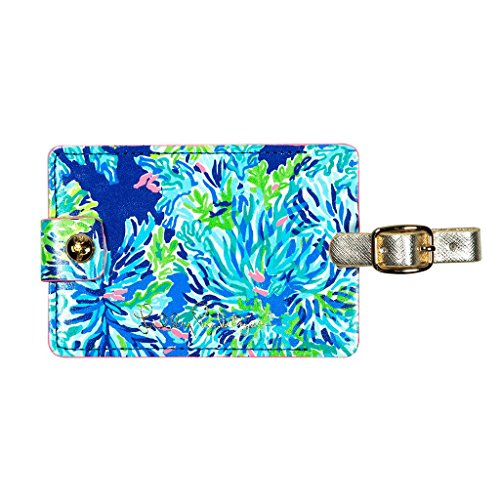 Lilly Pulitzer Girls' Luggage Tag K, Wade/Sea, 0 M US Infant - Lilly Pulitzer Infant