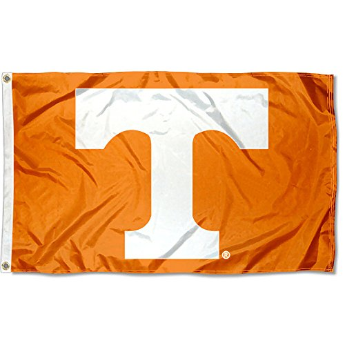 (College Flags and Banners Co. Tennessee Volunteers Power T Flag)