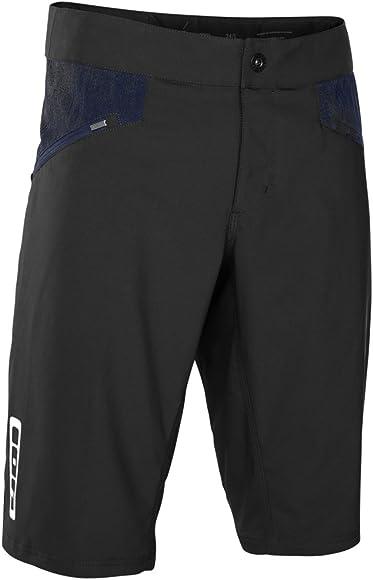 Pantalones cortos de ciclismo Ion Scrub 2018, color negro, color ...
