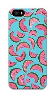 watermelon Pattern Theme Iphone 5 5S 3D Case Image Full Wrap