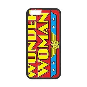 Wonder Woman Logo iPhone 6 Plus 5.5 Inch Cell Phone Case Black NiceGift pjz0035040994