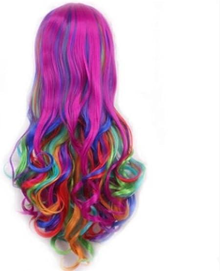 Peluca, cabello largo femenino, Europa y los Estados Unidos ...