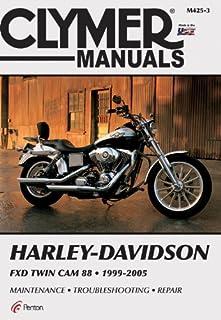 amazon com clymer harley davidson fxd twin cam 88 1999 2005 rh amazon com Harley Manuals PDF Harley Dyna Manual