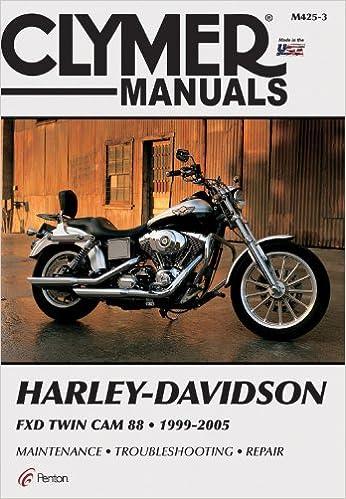 Harley davidson fxd twin cam 88 1999 2005 clymer motorcycle repair harley davidson fxd twin cam 88 1999 2005 clymer motorcycle repair penton staff 9780892879861 amazon books fandeluxe Images