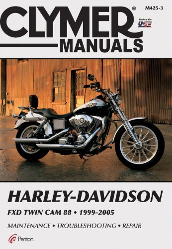 Harley Davidson FXD Twin Cam 88 1999-2005 (CLYMER MOTORCYCLE REPAIR) (Harley Davidson Accessories Book)