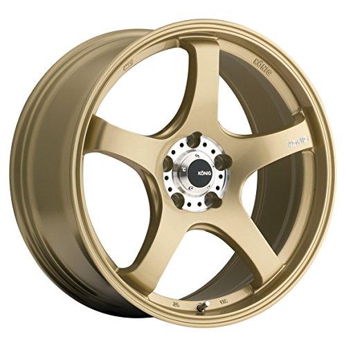 Konig Centigram Wheel with Gold Finish