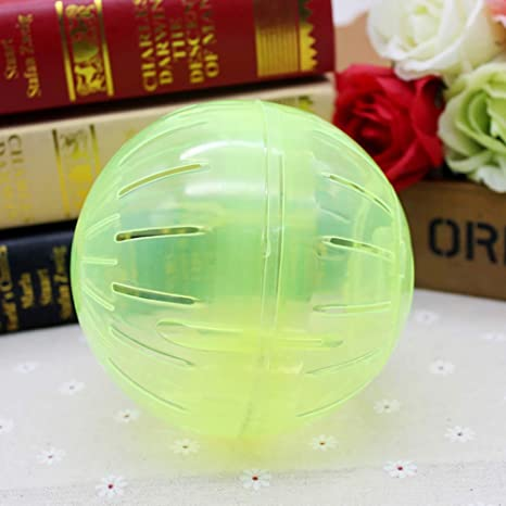 Gilroy Hamster Ball Toy Run-About Mini Ball for Pet Run Exercise Ball for Small Animal