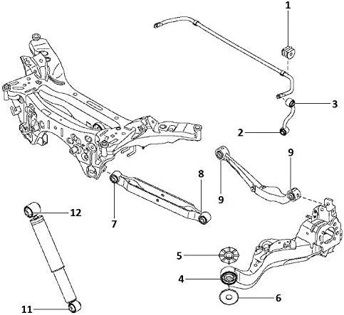 Upper arm Elgrand,X-Trail,Qashqai,Qashqai+2,Serena,Ad,Dualis,Ad Expert,Juke, Control Arm PU Bushing 2-06-2211 Rear Susp