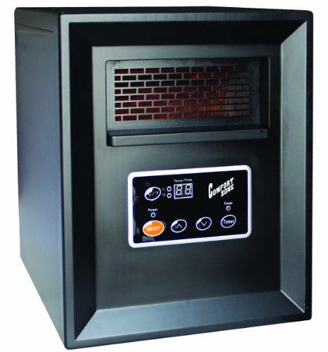 Comfort Zone Infrared Quartz Heater - 3413 BTU, 1000 Watts, Model# CZ2011P Comfort Zone Infrared