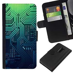 All Phone Most Case / Oferta Especial Cáscara Funda de cuero Monedero Cubierta de proteccion Caso / Wallet Case for LG G2 D800 // Pcb Electronics Circuit Layout Pattern