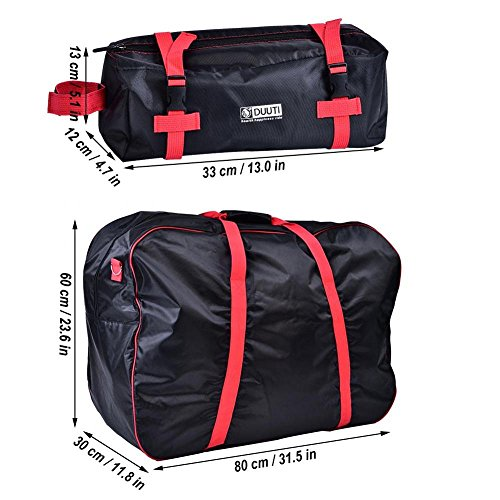Dilwe Bicycle Carry Bag, Portable Folding 2 Sizes Transport Cover Carrying Case for 14-20in Bikes with Shoulder Strap by Dilwe (Image #2)