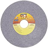 Norton 32A Vitrified Abrasive Wheel, Type 01 Straight, Aluminum Oxide, 1-1/4'' Arbor, 7'' Diameter, 1/2'' Thickness, 46-H Grit (Pack of 10)