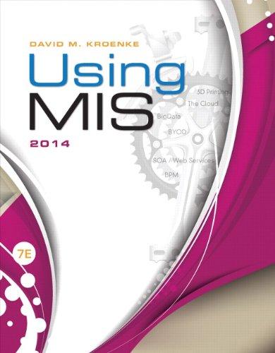 Using MIS (7th Edition)