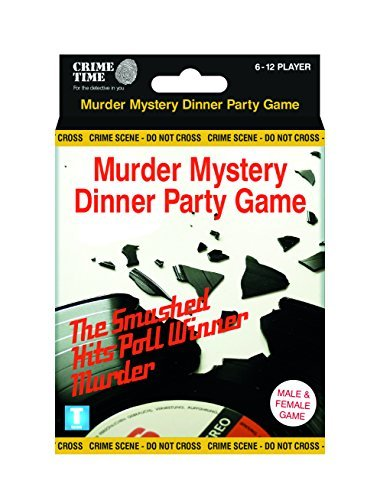Downloadable Murder Mystery Games (The Smashed Hits Poll Winners Murder (Mixed sex) - Murder mystery gift box - downloadable game for 6,8,10 or 12 players)