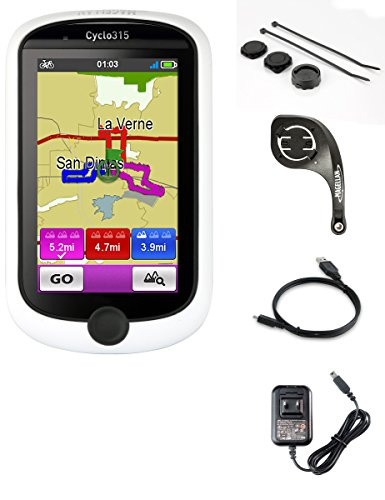 "Magellan CY0315SGXNA Cyclo 3"" GPS Cycling Computer with Built-In Bluetooth White/Black"