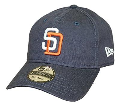"San Diego Padres New Era 9Twenty MLB ""Throw Back the Clock"" Adjustable Hat"