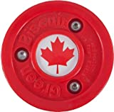 "Green Biscuit Olympic ""Flag"" Puck - Canada"