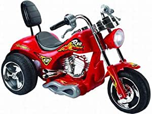 Red Hawk Motorcycle 12v - Red