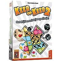 999 Games - Keer op Keer 2 Dobbelspel - vanaf 8 jaar - Een van de beste spellen van 2019 - Inka & Markus Brand - Roll…