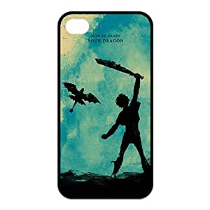 the Case Shop- How To Train Your Dragon Movie TPU Rubber Hard Back Case Silicone Cover Skin for iPhone 4 and iPhone 4S , i4xq-610