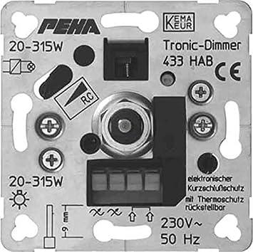 peha Phasenabschnittdimmer D 433 HAB-60 O.A. 20-250W Elektronische ...