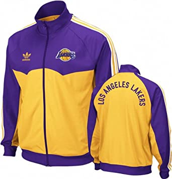 adidas Los Angeles Lakers Originals Round Off Track Jacket ...