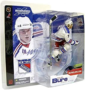 McFarlane Toys NHL Sports Picks Series 3 Action Figure: Pavel Bure (New York Rangers) White Jersey