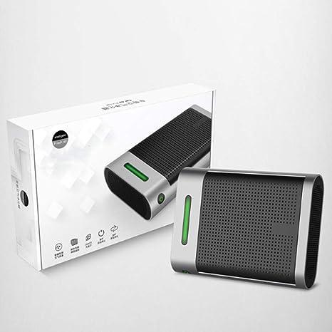 Purificador de Aire del automóvil - Ion de Limpieza USB - Filtro HEPA - Eliminar el ión Negativo del