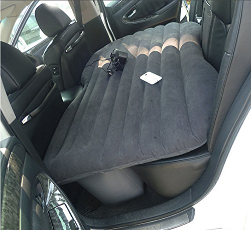 Car Inflatable Matress Travel Camping Comfortable Flocking Air Bed Style 1 (Grey) by Car Inflatable Matress