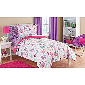 Amazon.com: Mainstays Kids Pretty Princess, Floral, Castle