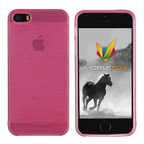 Mobilefox Paul Schutzhülle Soft Case Apple iPhone 5/5S/SE Pink