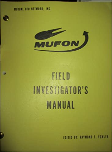 mufon field investigators manual