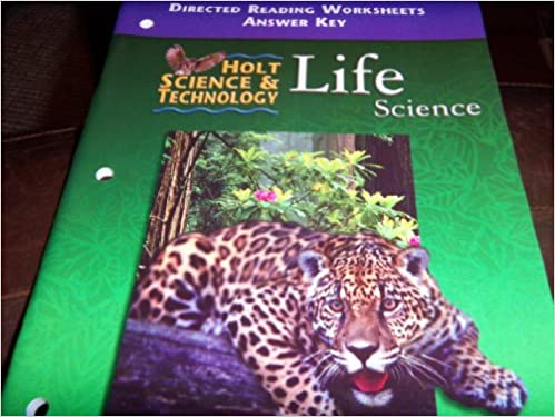 Holt Science and Technology 2001 : Life: Directed Reading ...
